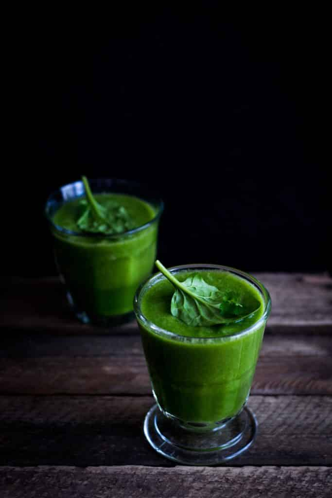 a green smoothie: the ultimate mindful meal